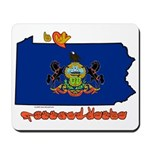 ILY Pennsylvania Mousepad