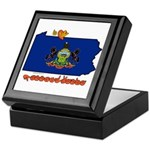 ILY Pennsylvania Keepsake Box