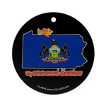 ILY Pennsylvania Ornament (Round)