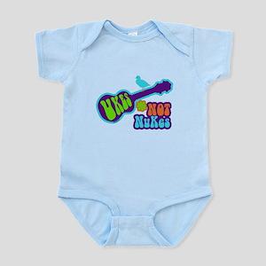 Ukes Not Nukes Infant Bodysuit