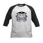 This is a Crock! Kids Baseball Jersey