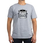 This is a Crock! Men's Fitted T-Shirt (dark)