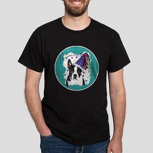 Boston Terrier Party Animal Dark T-Shirt