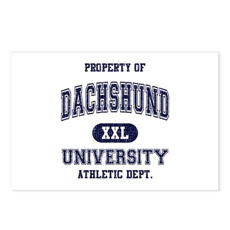 Dachshund University Postcards (Package of 8)