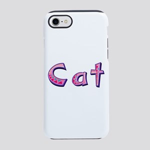 Cat Pink Giraffe iPhone 7 Tough Case