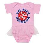 Yo Soy Boricua Baby Tutu Bodysuit