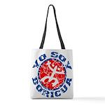 Yo Soy Boricua Polyester Tote Bag