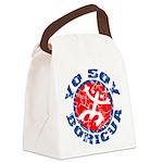 Yo Soy Boricua Canvas Lunch Bag