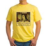 Guard Cat Yellow T-Shirt
