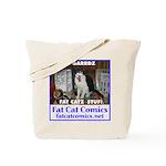 Guard Cat Tote Bag