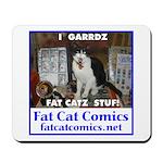 Guard Cat Mousepad