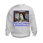 Guard Cat Kids Sweatshirt