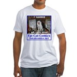 Guard Cat Fitted T-Shirt