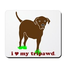 I Love My Tripawd Mousepad