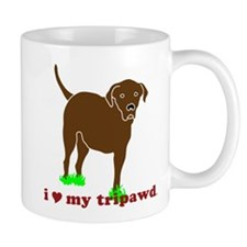 I Love My Tripawd Mug