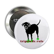 """Tripawds Rule Rear Leg Lab 2.25"""" Button"""
