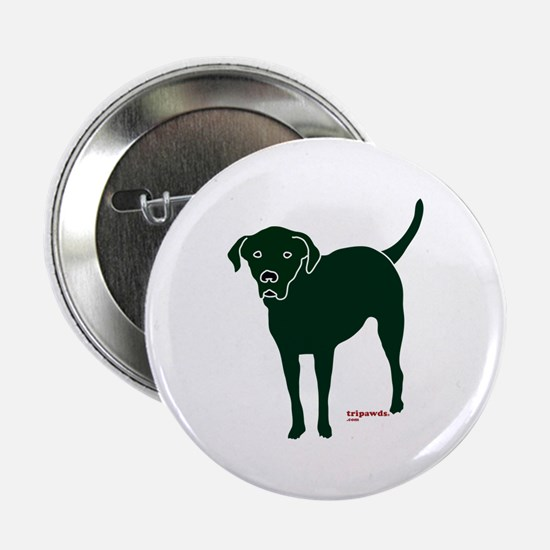 "Tripawds Rear Leg Black Lab 2.25"" Button"