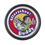 Afterschool Buddy Large Wall Clock