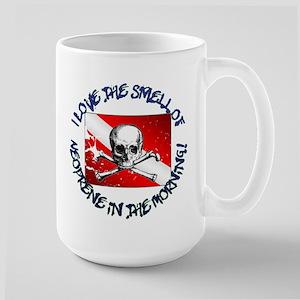 Neoprene In The Morning Large Mug