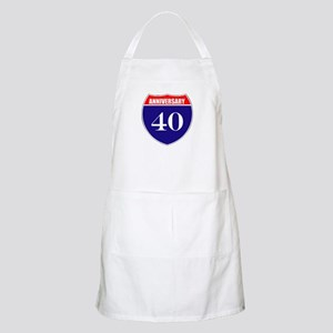 40th Anniversary! Apron