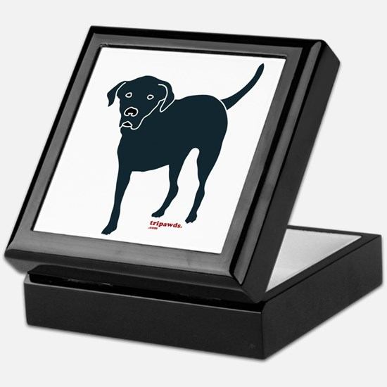 Tri-Lab Silhouette (Front) Keepsake Box