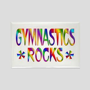 Gymnastics Rectangle Magnet