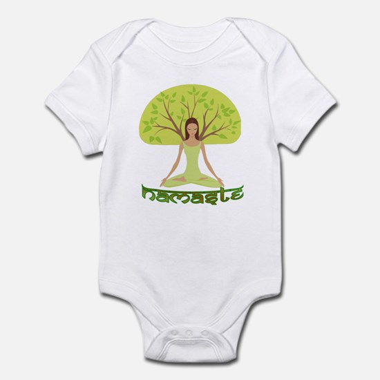 Namaste Tree Infant Bodysuit