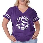 Taino Yo Soy! Women's Plus Size Football T-Shirt