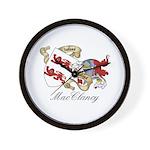 MacClancy Sept Wall Clock