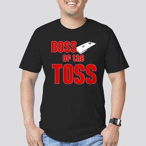 Boss of the Toss Men's Fitted T-Shirt (dark)