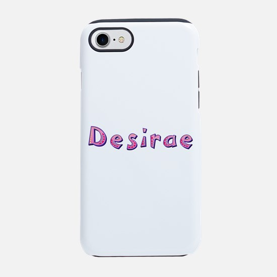 Desirae Pink Giraffe iPhone 7 Tough Case
