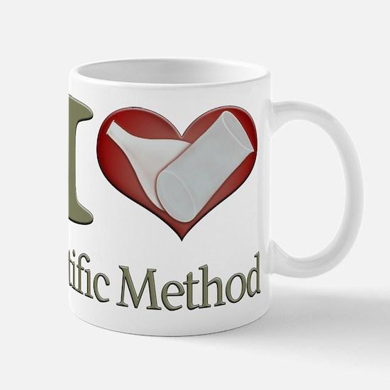 I Heart the Scientific Method Mug