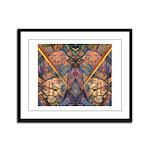 African Heritage Framed Panel Print
