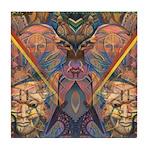 African Heritage Tile Coaster
