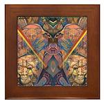 African Heritage Framed Tile