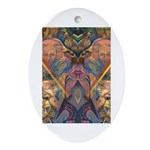 African Heritage Oval Ornament