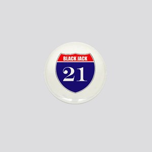21 BlackJack! Mini Button