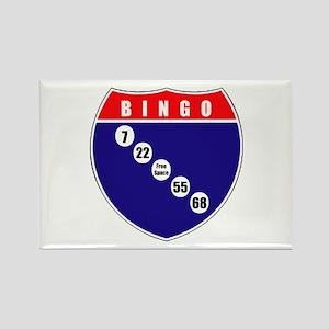 BINGO! Rectangle Magnet