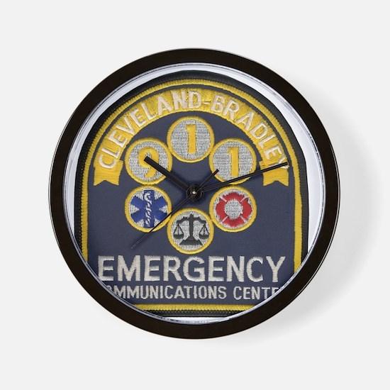 Cleveland Bradley 911 Wall Clock