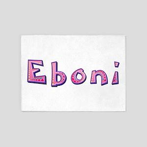 Eboni Pink Giraffe 5'x7' Area Rug