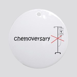 chemoversary Ornament (Round)