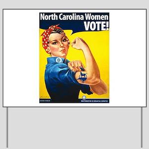 NC Women Vote Yard Sign