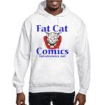 Unframed Logo Hooded Sweatshirt