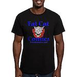 Unframed Logo Men's Fitted T-Shirt (dark)