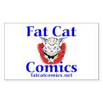 Unframed Logo Sticker (Rectangle 10 pk)
