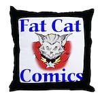 Unframed Logo Throw Pillow