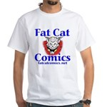 Unframed Logo White T-Shirt