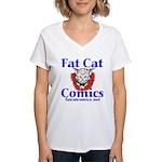 Unframed Logo Women's V-Neck T-Shirt