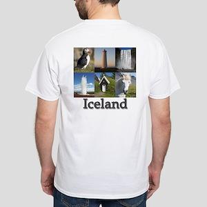 Iceland White T-Shirt