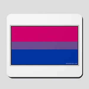 Bi-Sexual Pride Flag Mousepad